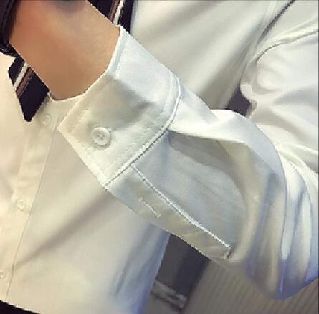 YYG Mens Long Sleeve Business Fashion Turn Down Collar Button Down Dress Shirts