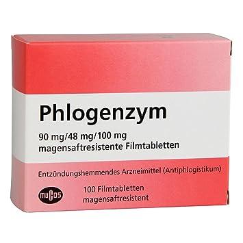 Comprimidos recubiertos con película phlogenzym gastrorresistentes 100 St: Amazon.es: Hogar