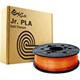 XYZprinting RFPLCXEU07B Bobina de Filamento de PLA de diámetro 1.75 mm, Naranja Transparente