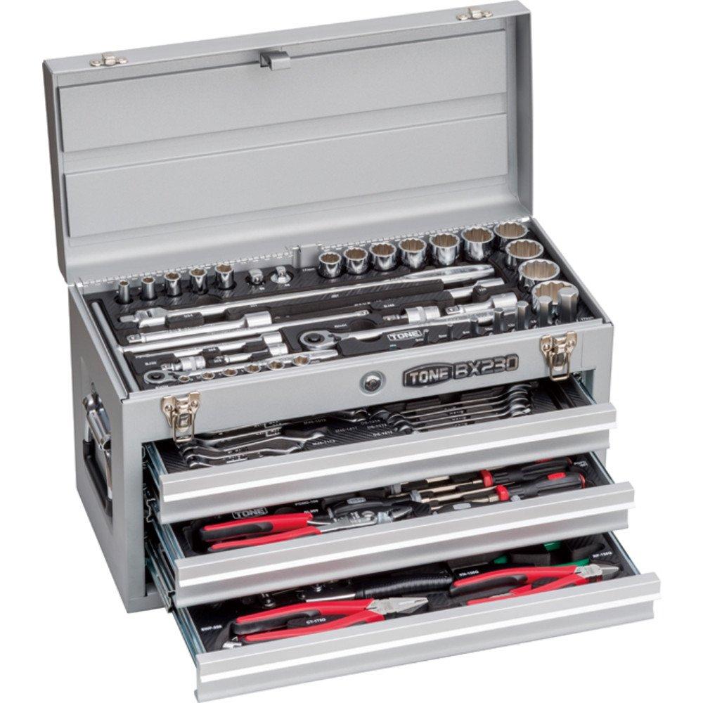 トネ(TONE) ツールセット TSXT950SV 差込角9.5&12.7mm シルバー 内容87点 B01N4968Z0