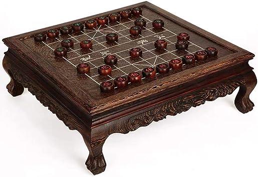 GZ Xiangqi de Mesa Chino Juego de ajedrez Estrategia Juegos de Mesa, Juegos Inicio clásico de la Educación for 2 Jugadores (Color : Black) : Amazon.es: Juguetes y juegos