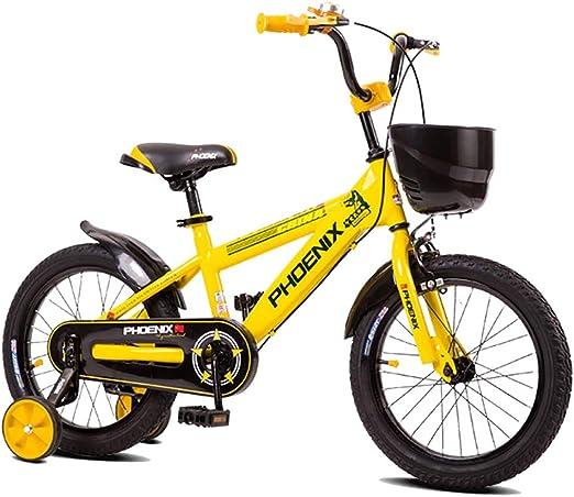 GAIQIN Durable Bicicleta de Bicicleta para niños 2-3-4-5-7-8-10 ...