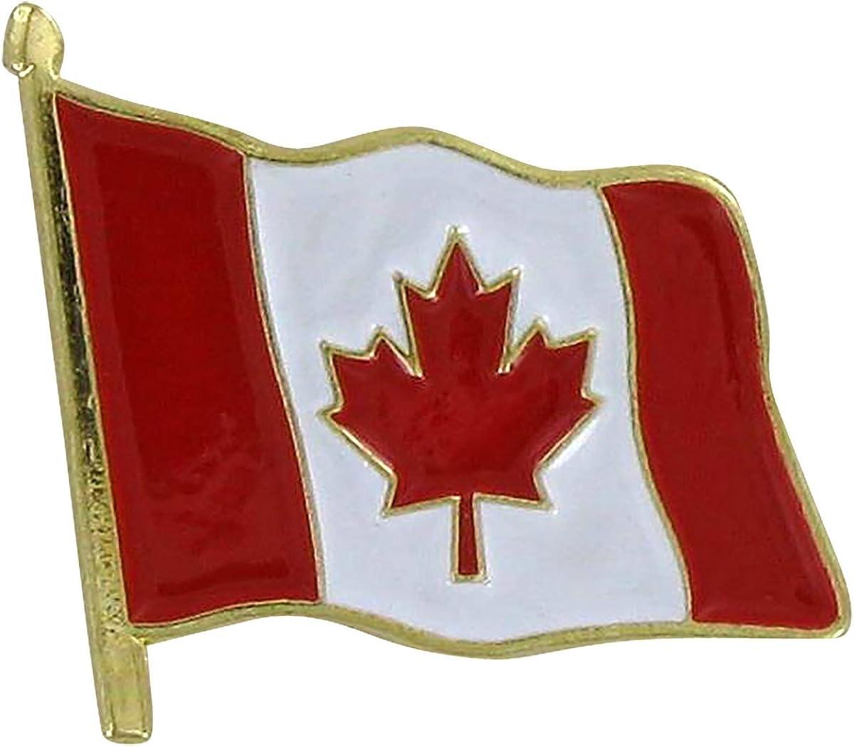 Canada Flag Lapel Pin Lot Of 20