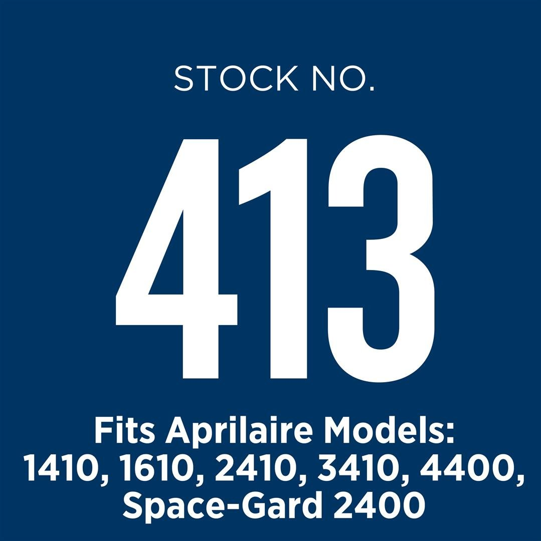 Aprilaire 413 Air Filter for Air Purifier Models 1410, 1610, 2410, 3410, 4400, 2400; Pack of 8 by Aprilaire (Image #9)
