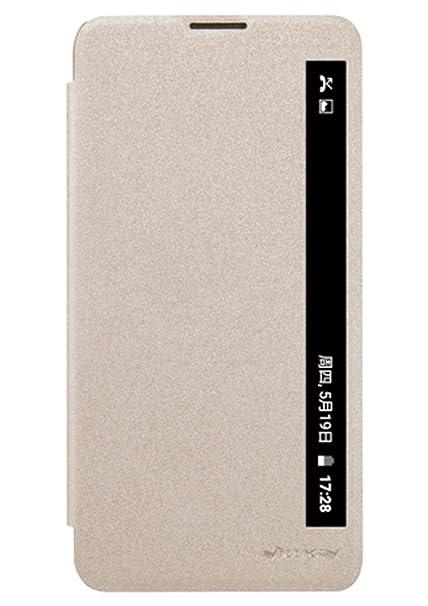 pretty nice 86e0d ea577 Nillkin Sparkle Series Window Leather Flip Case Cover: Amazon.in ...