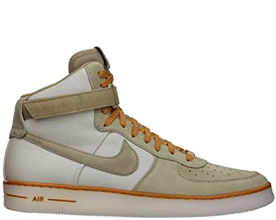 newest 138ad 7502f Image Unavailable. Image not available for. Color NIKE Mens Air Force 1  Downtown Hi Bamboo ...