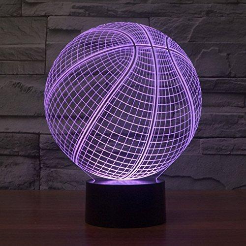 designs basketball double lamp llc cut product led