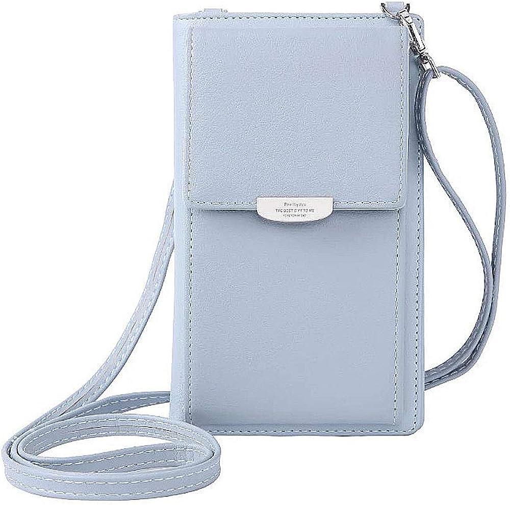 Crossbody Bag Faux Leather...
