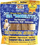 Ark Naturals Sea Mobility Venison Jerky for Dogs, 9-Ounce Pouches (Pack of 2), My Pet Supplies