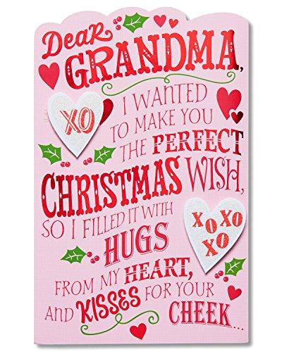 American Greetings Christmas Card for Grandma (Christmas Wish)