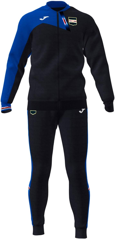 Joma - Chándal de algodón de Rappresance Sampdoria 2019-20 Negro ...