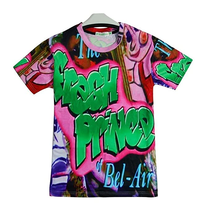 9Yourtime Women Men Clothes Harajuku The Fresh Prince Of Bel-Air Printed T  Shirt 3704c9bf0