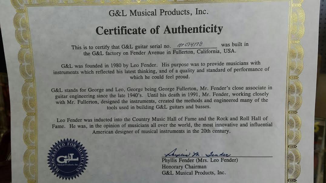 G & L Comanche Strat Guitarra eléctrica guitarras por Leo Fender ...