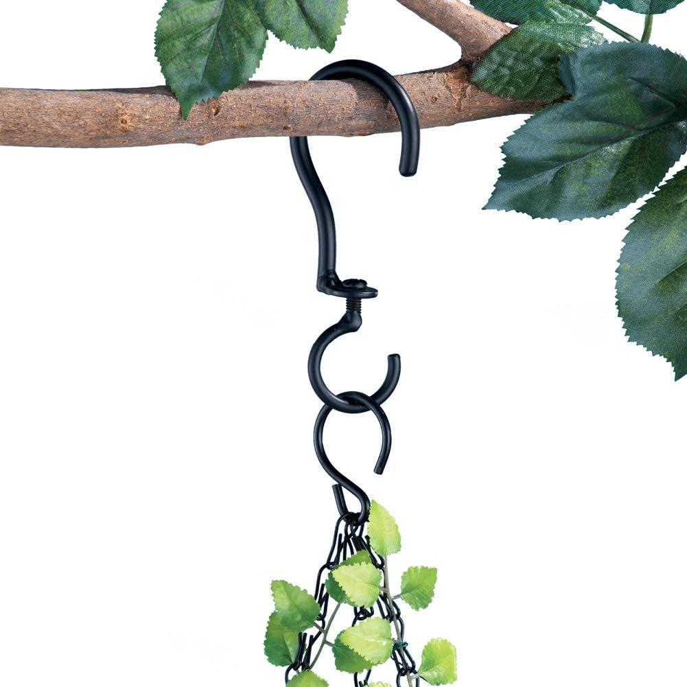 Swivel Hanging Basket Hooks – Set Of 3