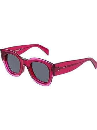 Amazon.com: anteojos de sol Celine CL 41446/S 0 MU1 Fucsia ...