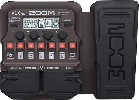 Zoom A1X FOUR/IF - Pedal multiefectos para guitarra acústica ...