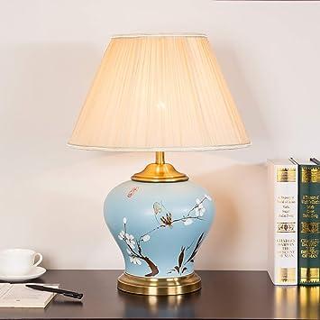 mano dibujo lámpara de mesa de cerámica moderna iluminación ...