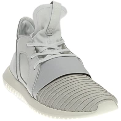 brand new 517be bec43 Amazon.com   adidas Tubular Defiant Casual Men s Shoes Size 7.5 White    Shoes