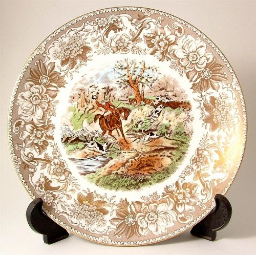 (Spode Hunting Scenes Drawing The Dingle Produced from Engravings After J F Herring LE of 2000 ONLY CP199)