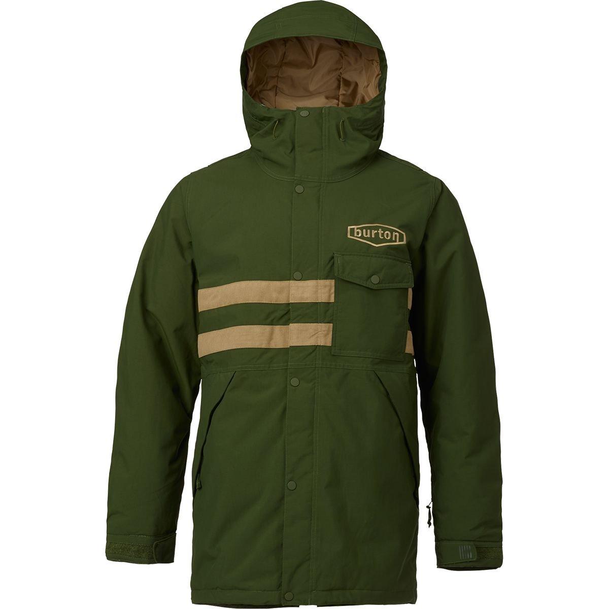 (バートン) Burton Hoosick Parka メンズ ジャケットRifle Green/Kelp [並行輸入品] B0786ZS5F5 日本サイズ M (US S)|Rifle Green/Kelp Rifle Green/Kelp 日本サイズ M (US S)