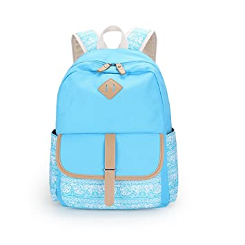 d89e1d968f16 Image Unavailable. Image not available for. Color  Casual Flower Bagpack  Women Canvas Printing Backpack School Bag For Teenager Girls ...