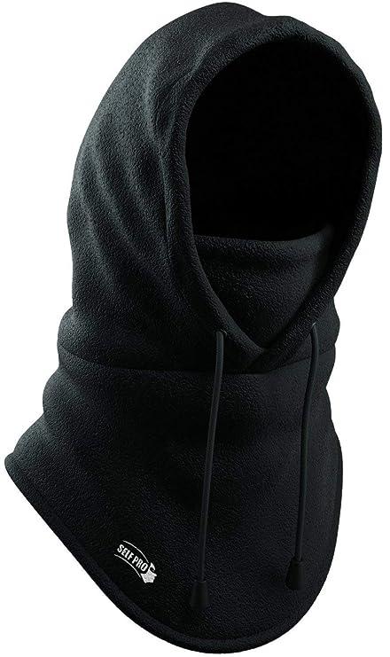 1052afba62e Balaclava Fleece Hood - Windproof Face Ski Mask - Ultimate Thermal  Retention   Moisture Wicking with