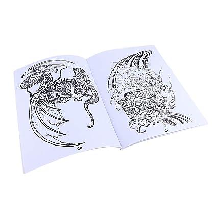 Libros de Maquillaje Corporal Tatuajes Temporales Adultos Tatuaje ...