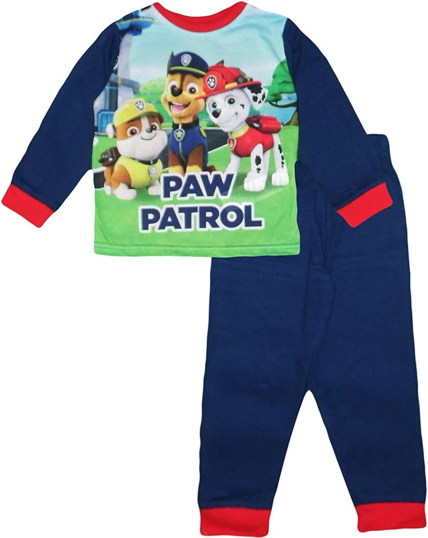 Pigiama Intero Paw Patrol 2 3 4 5 6 Anni Inverno 2021