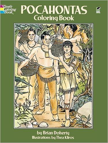 Pocahontas Coloring Book: Brian Doherty, Thea Kliros: 0800759280407 ...