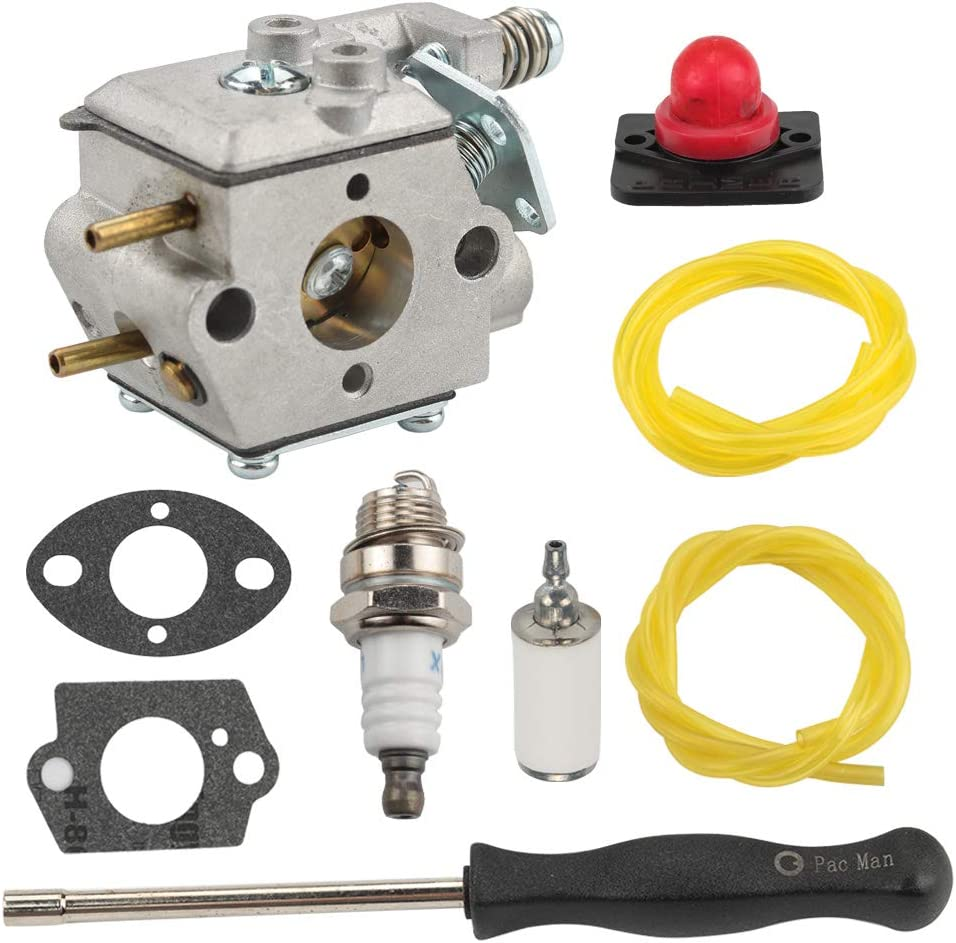 Carburetor Fuel Filter Line Carb For 545081825 530035263 530071638 Poulan WT3100
