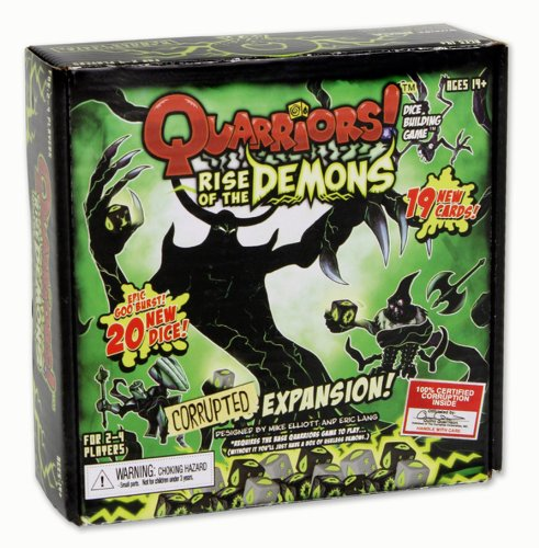 WizKids Quarriors Dice Building Game - Rise of The Demons Expansion by WizKids