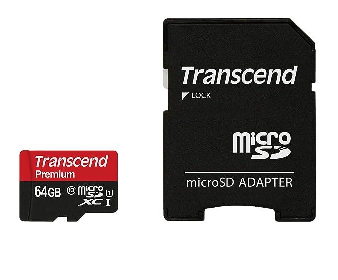 Transcend - Tarjeta microSD