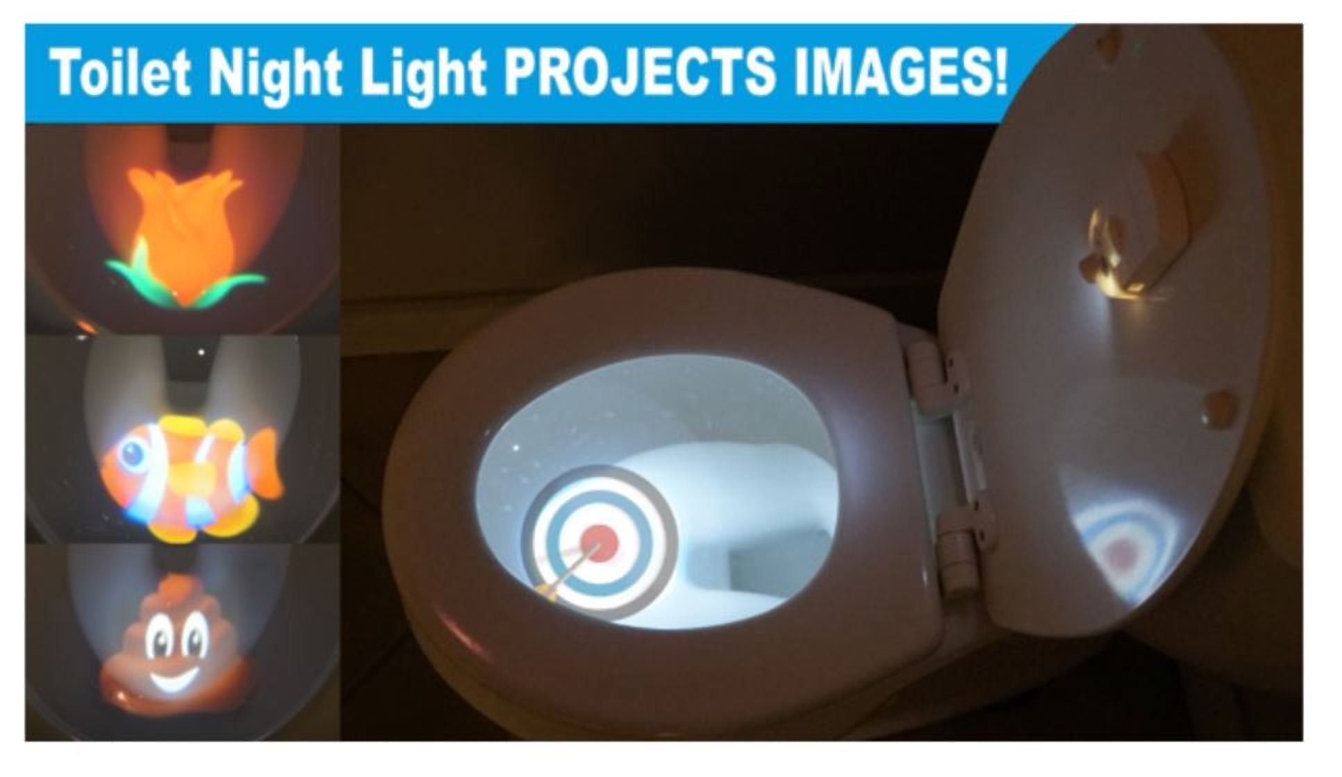 New Launch: Toilet Projector light Motion-activated Sensor For 4 Different Themes Children Toilet Training by JuiciaTrendz