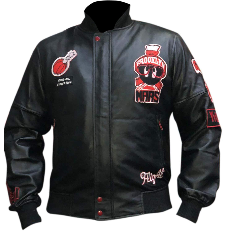 air jordan leather jacket