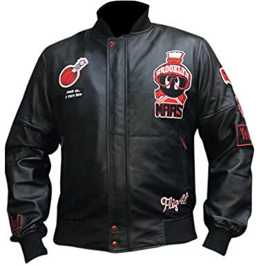 3c2fad3bf073 Men s Air Jordan Marvin The Martian Bomber Leather Jacket XX-Small  (Suitable for 35