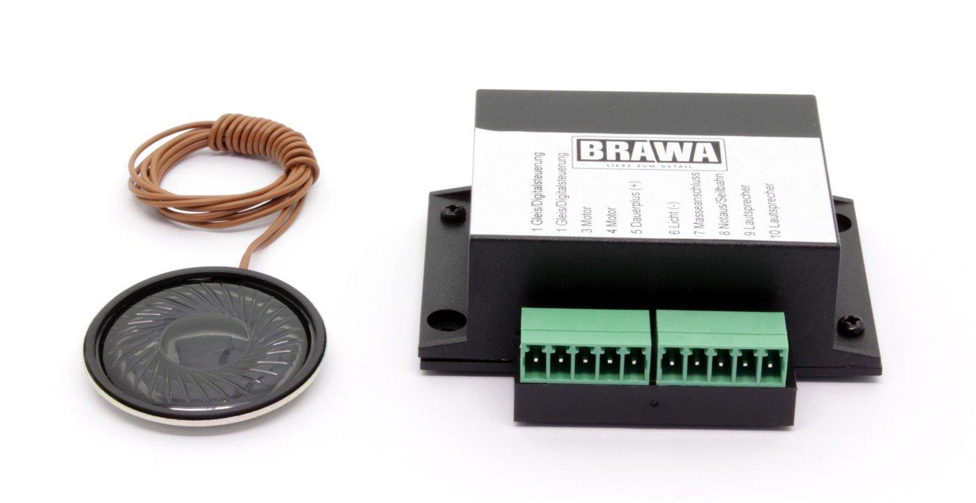 BRAWA 6345 Soundpaket Seilbahnen