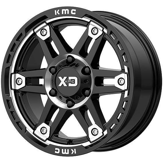Amazon Com Xd Series Xd840 Spy 2 17x8 6x120 18mm Blackmachined