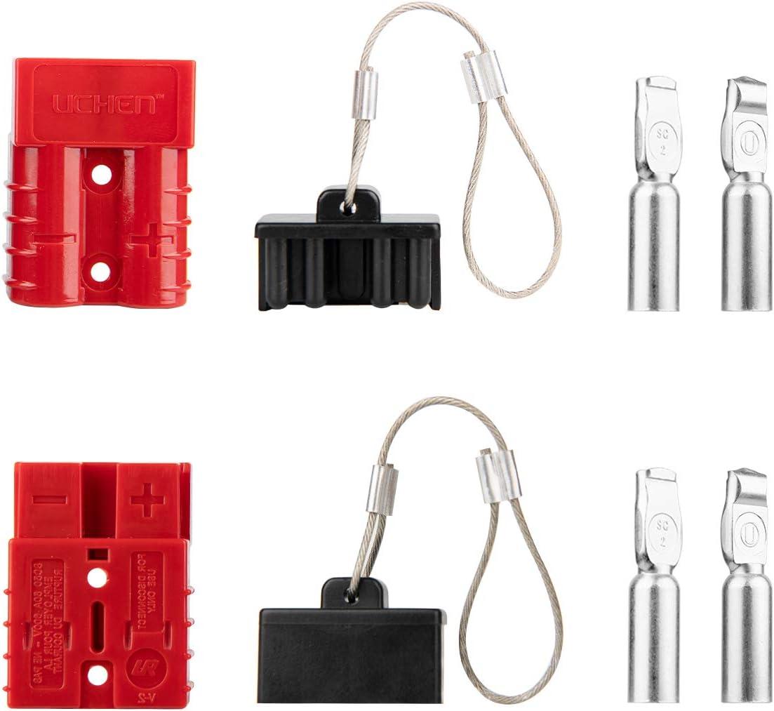 10/Gauge Akku Schnelle verbinden//trennen Kabelbaum Plug Stecker Recovery seilwinde Trailer 6