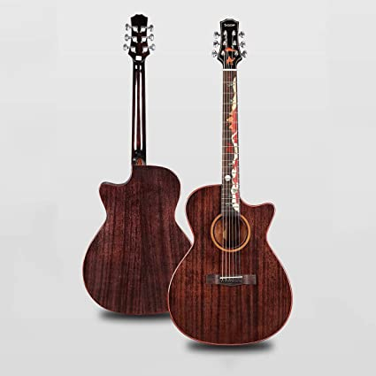 Boll-ATur Guitarra acústica de 40 in Juego de guitarra eléctrica ...