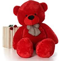 Buttercup Premium Quality Soft Lovable hugable Cute Lovely Teddy Bear, Best for Someone Special (Red, 4 feet (122 cm))