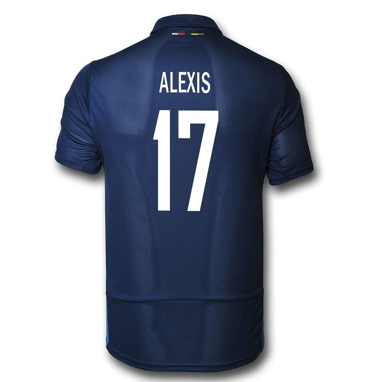 Puma Alexis #17 Arsenal Third Soccer Jersey 2015-16 (YOUTH)/サッカーユニフォーム アーセナルFC Third用 アレクシス 背番号17 2015 ジュニア向け B019J91BFU Y-X-Large, せんべいラボ 019bcb12
