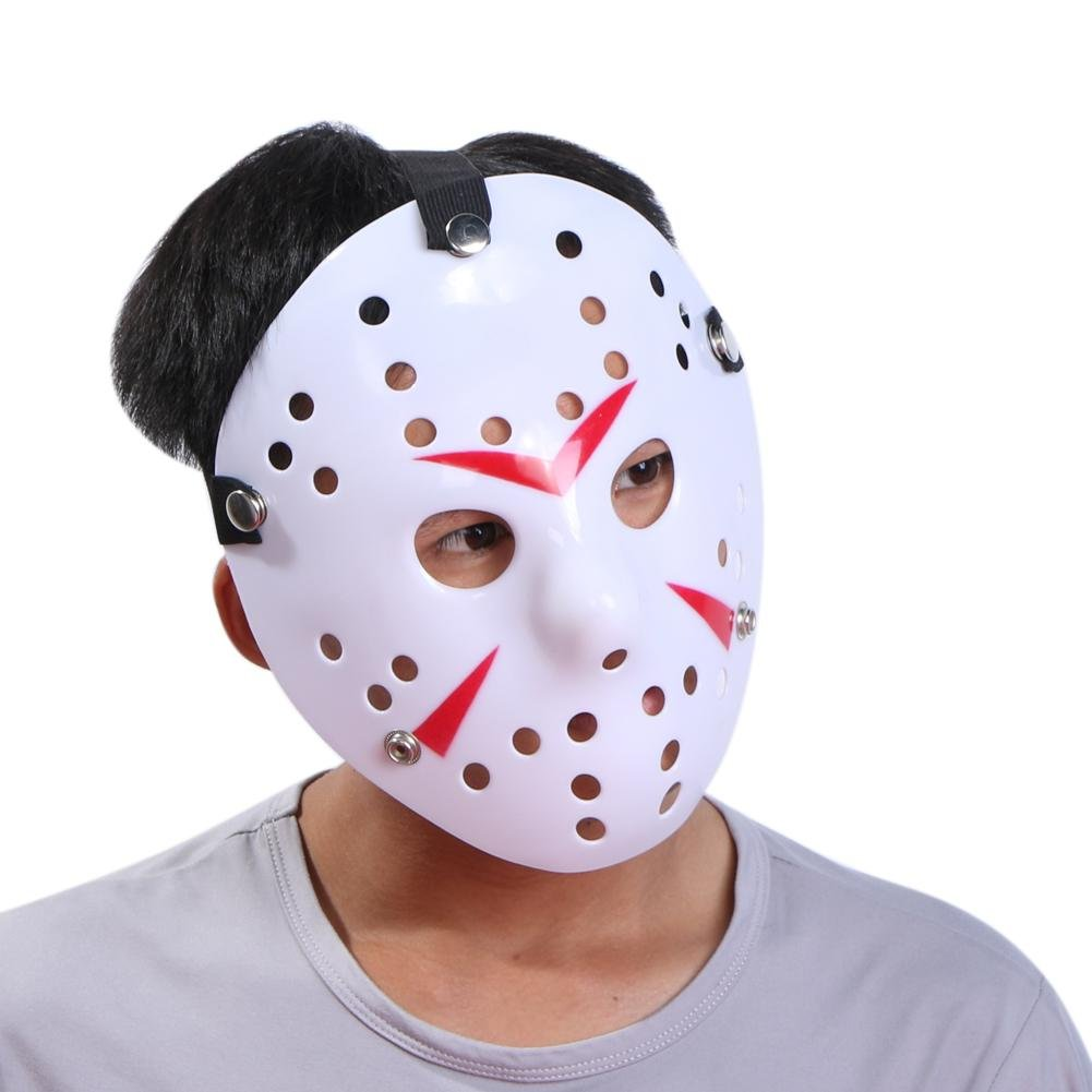 Amazon.com: silverone Horror Halloween Costume Masks Mascara Dance Gathering Jason Mask Cosplay Props: Toys & Games