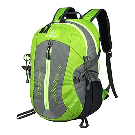 931d89eb031e TOFINE Heavy Duty Hidden Pocket Outdoor Water Proof Travel Backpack Green  25L