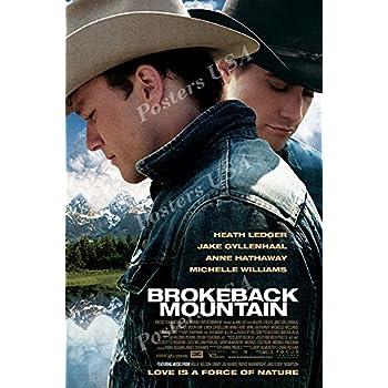 "Posters USA - Brokeback Mountain Movie Poster GLOSSY FINISH - MOV747 (24"" x 36"" (61cm x 91.5cm))"