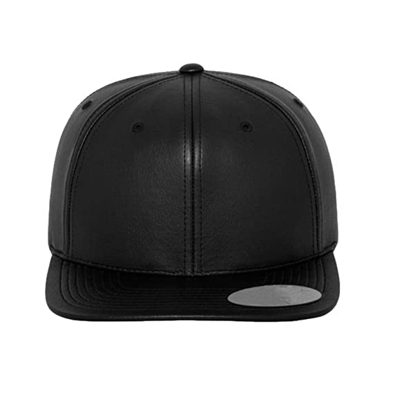 879c3c1df4f SAIFPRO Men s and Women s Self Design Leather Snapback HipHop Cap ...