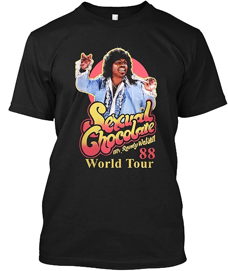 Randy Watson Sexual Chocolate World Tour 88 3 Unisex T Shirt