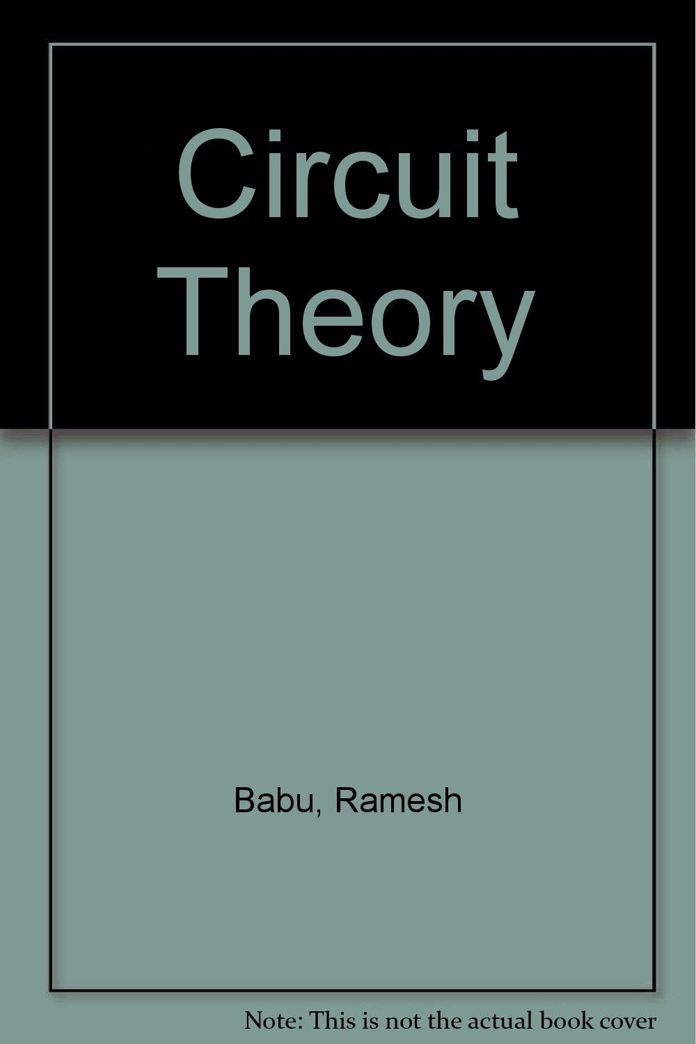 Buy Circuit Theory Book Online At Low Prices In India Electronic Circuits 2 By Salivahanan Pdf Reviews Ratings