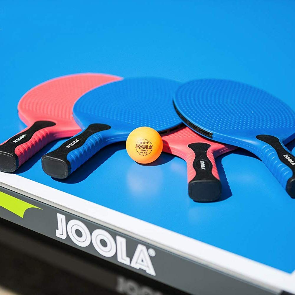 Amazon.com : JOOLA Linus Weatherproof Outdoor Table Tennis Racket Set with 2 Rackets : Sports & Outdoors