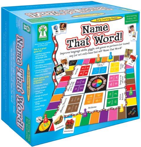 Key Education Publishing Name That Word