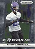 XAVIER RHODES ROOKIE CARD COLLECTIBLE FOOTBALL CARD - 2013 PANINI PRIZM FOOTBALL CARD #298 (MINNESOTA VIKINGS) FREE SHIPPING AND TRACKING